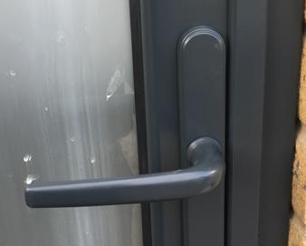Anthracite Grey Aluminium Doors