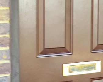Composite Door Respray