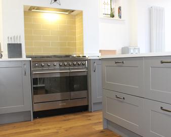 Moles Breath Grey Kitchen