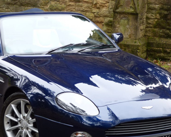 Aston Martin Scuff Repair