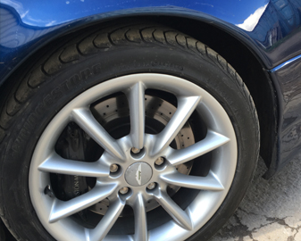 Aston Martin Wheel Repair