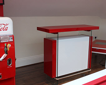 Red Bar Refinished